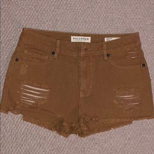 Bullhead Tan Shorts